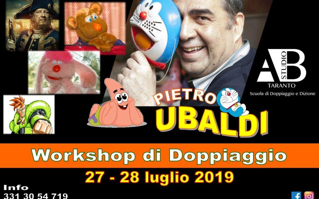Workshop di Doppiaggio con Pietro Ubaldi
