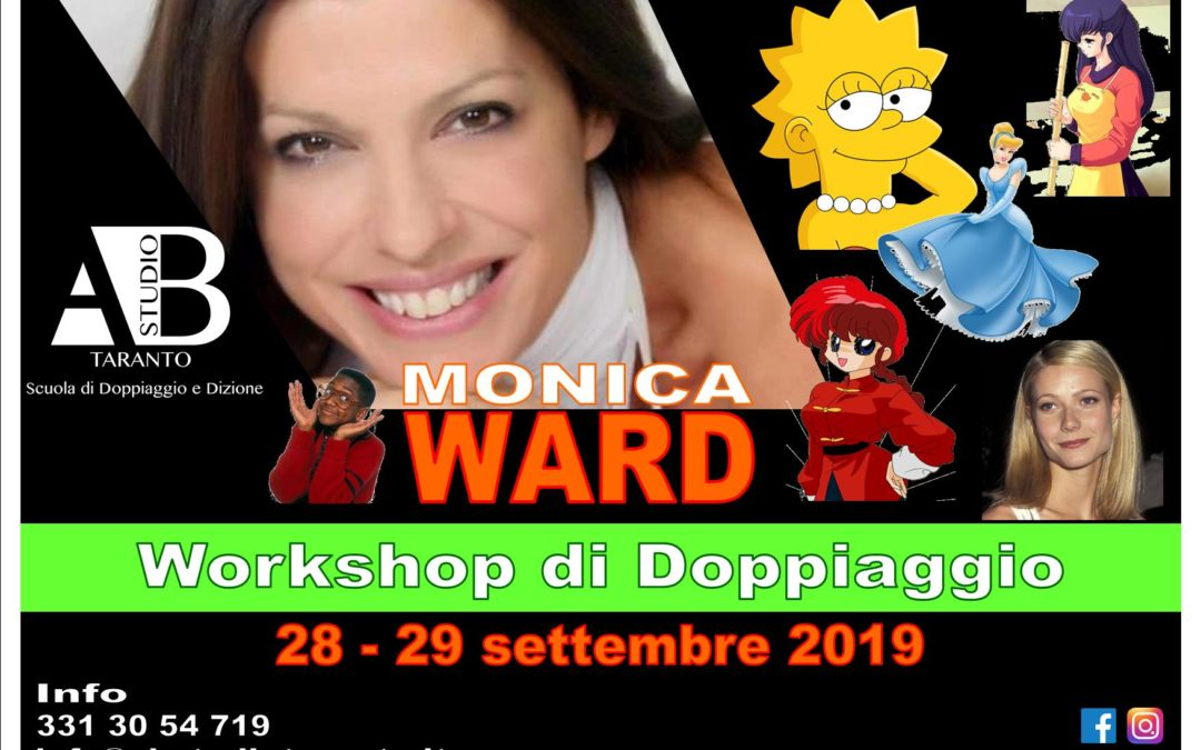 Workshop di Doppiaggio con Monica Ward
